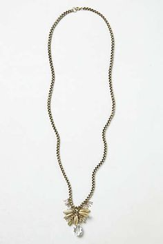 Anthropologie - Fallen Petals Necklace