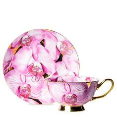 Pink Luscious Cup And Saucer