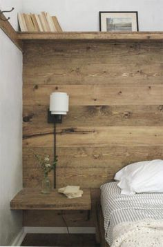 New Diy Headboard Alternative Style 51 Ideas Home Bedroom, Bedroom Decor, Bedroom Ideas, Wall Decor, Bedroom Colors, Bedroom Furniture, Bedroom Night, Bedding Decor, Cabin Furniture