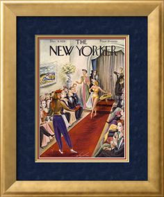 The New Yorker Cover - December 9, 1939 Poster Print by Constantin Alajalov at the Condé Nast Collection