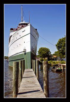 SS Kewadin, in the Kalamazoo River, Saugatuck, MI.