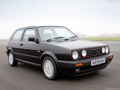 VW Golf MKII GTI (1983) My first company car - passed on to me when my (now) sister-in-law left!