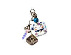 Check out Kawaii Cute Cat Maneki Neko Dust Plug. on doggonecutejewelry Good Luck Symbols, Dust Plug, Color Crafts, Maneki Neko, Kawaii Cute, Cute Cats, Mall, Charms, Easter