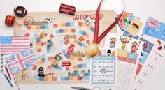 Cool Mom Picks - Throwing an Olympics Party? Some of the coolest printables, snacks, and party ideas