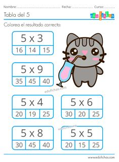2nd Grade Math Worksheets, School Worksheets, 4th Grade Math, Math For Kids, Lessons For Kids, Math Lessons, Educational Games For Kids, Kids Learning, Math Sheets