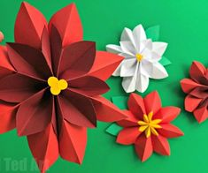 Oh my, how LOVELY are these easy Paper Cardinal Ornament DIYs?? So cute. Love the paper fan bird technique. The perfect easy Christmas and Winter Decoration