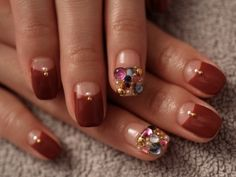 ☆スクウェア ビジュー アート☆ の画像|パリのネイルサロン Bijoux nails Paris