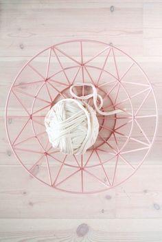 Wire basket via Little Helsinki