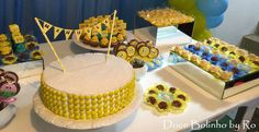 Yellow cake - Festa Bob Esponj