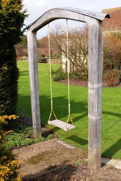 Backyard swing