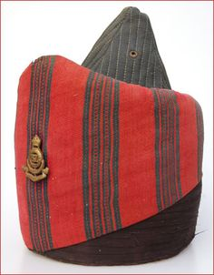Indian Army Kullah. A World War I era Indian Army kullah - the traditional headgear of some Indian regiments. This one features the badge of the 67th Punjab Regiment, which served in Mesopotamia during the war.