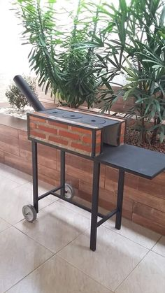 Gas Grill On Wood Deck – Deck for Houses Outdoor Kocher, Outdoor Stove, Rocket Stoves, Camping Stove, Outdoor Living, Outdoor Decor, Bbq Grill, Outdoor Cooking, Pergola