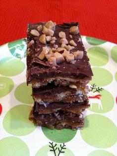 Grandma B's Kitchen: Christmas Crack