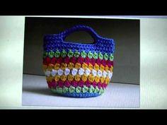 ▶ FREE WRITTEN PATTERN - Cluster Stitch Bag - YouTube