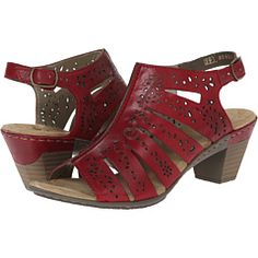 Rieker 67366 Aileen 66 Rosso/Rosso - Zappos.com Free Shipping BOTH Ways
