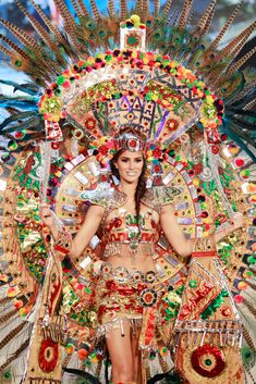 36 Most Amazingly Elaborate Miss Universe Costumes