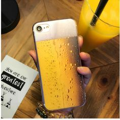 Beer Design Ultra Thin Soft Silicone Phone Case For Apple iPhones