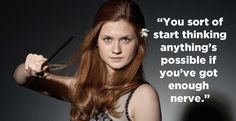 When Ginny benefited from growing up with Fred and George.