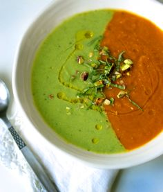 Psychedelic Spring Soup - My New Roots