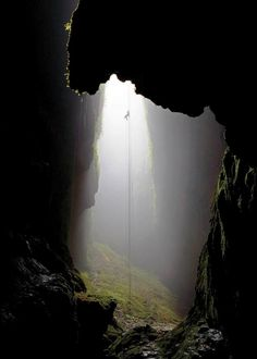 Waitomo Caves - the repel into this cave in phenomenal but the 5 hour hike out in the stream is a big challenge. Well worth doing !!!! One of my favorite adventures in NZ !!!
