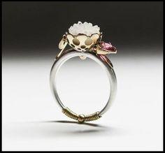 Vena Amoris Collection. 14k Gold, 925 Silver, Quartz, Pink Tourmaline.