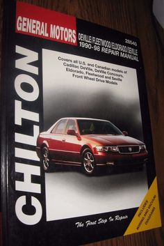 Chilton Repair Manual DeVille Fleetwood Eldorado & Seville, 1990-98 #28540