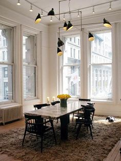 Madeline Weinrib's Dining Room in NYC