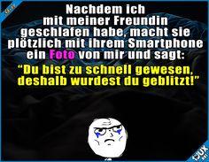Ok, Botschaft angekommen x.x #Freundin #zuschnell #gekommen #peinlich #lustigeMemes #Memes #Humor #Statussprüche Humor