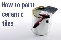 Tiles looking tired? In this illustrated guide we show how to liven up those old kitchen or bathroom tiles with a touch of paint. Painting Bathroom Tiles, Painting Ceramic Tiles, Tile Projects, Diy Projects To Try, Old Kitchen, Kitchen Ideas, Diy Home Repair, Hearth And Home, Diy Home Improvement