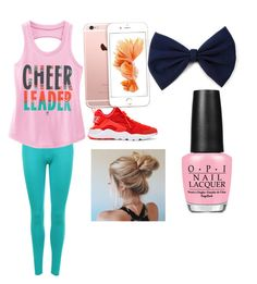 """""""Untitled #7"""" by sydneykimora on Polyvore featuring WearAll, NIKE and OPI"""