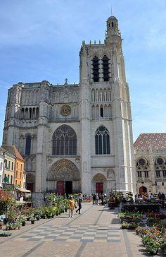 Cathédrale Saint-Étienne. Sens (Yonne) -  Bourgogne