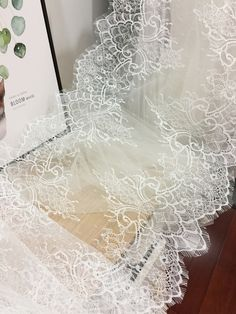 3 yards  Exquisite chantilly lace fabric for boleros, shrugs  Bridal  veil Dress Decor, Bodice by lacetime on Etsy https://www.etsy.com/listing/564509270/3-yards-exquisite-chantilly-lace-fabric