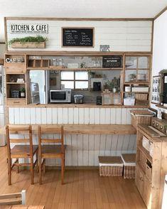 Bakery Kitchen, Home Bakery, Studio Kitchen, Diy Kitchen, Kitchen Design, Kitchen Decor, Cafe Interior Design, Interior Design Inspiration, Kitchen Interior