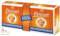 Brandt Markenzwieback, 15.9 oz Value Pack