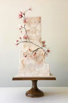 marble wedding cakes in soft pink colors with pink flowers jasmineraecakes Gâteau de Mariage 36 Trendy Marble Wedding Cakes Elegant Wedding Cakes, Beautiful Wedding Cakes, Wedding Cake Designs, Wedding Cake Toppers, Trendy Wedding, Cake Wedding, Square Wedding Cakes, Unusual Wedding Cakes, White Wedding Cakes