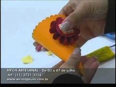 Programa Ateliê na TV: Projeto Scrap Festa Infantil - Com Karin Araujo