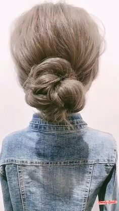 Hair Up Styles, Short Hair Styles Easy, Medium Hair Styles, Haircuts For Long Hair, Braided Hairstyles, Cool Hairstyles, Hair Curling Tips, Anti Frizz, Brown Blonde Hair