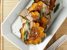 """Recipes from the Chubby Vegetarian's Upcoming Cookbook, """"The Southern Vegetarian Cookbook"""" Chanterelle and Apricot Stuffed Acorn Squash @The Chubby Vegetarian"""
