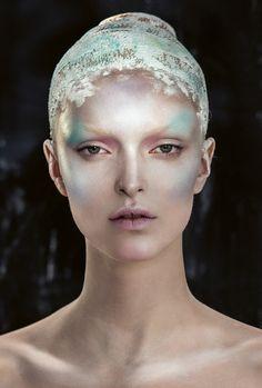 Danish photographer Signe Vilstrup captures an extraordinary set of beauty images featuring mod...