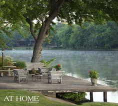 Landscape Lighting Inspiration from At Home in Arkansas Magazine