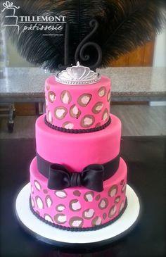 Little Diva Sweet 16 Cakes | Patisserie Tillemont | Montreal