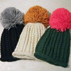 Knit Beanie #fashiondrop