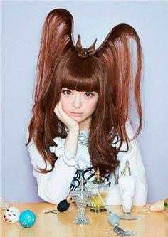 Amaaaazing Bat Hair from 'Fashion Monster' model/J-pop star Kyary Pamyu Pamyu