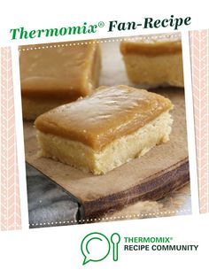 Ginger crunch by thermifyme. A Thermomix <sup>®</sup> recipe in the category Baking - sweet on www.recipecommunity.com.au, the Thermomix <sup>®</sup> Community.