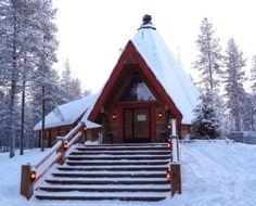 Lapland Restaurant Kotahovi in Santa Claus Reindeer Resort in Rovaniemi in Lapland Santa Claus Village, Santa's Village, Restaurants, Arctic Circle, Photos, Pictures, Reindeer, Summertime, Cabin