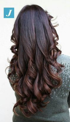 Great Hairstyles, Girl Hairstyles, Wedding Hairstyles, Ombre Highlights, Curls For Long Hair, Joelle, Hair Girls, Silky Hair, Beautiful Long Hair