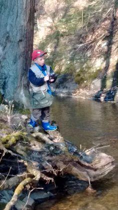 Matthew caught 2 trout.