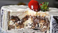 RECEITA - Torta de Sorvete e Bis