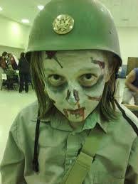 Afbeeldingsresultaat voor halloween makeup zombie