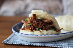 Gloriously fluffy char siu buns with heaps of flavour